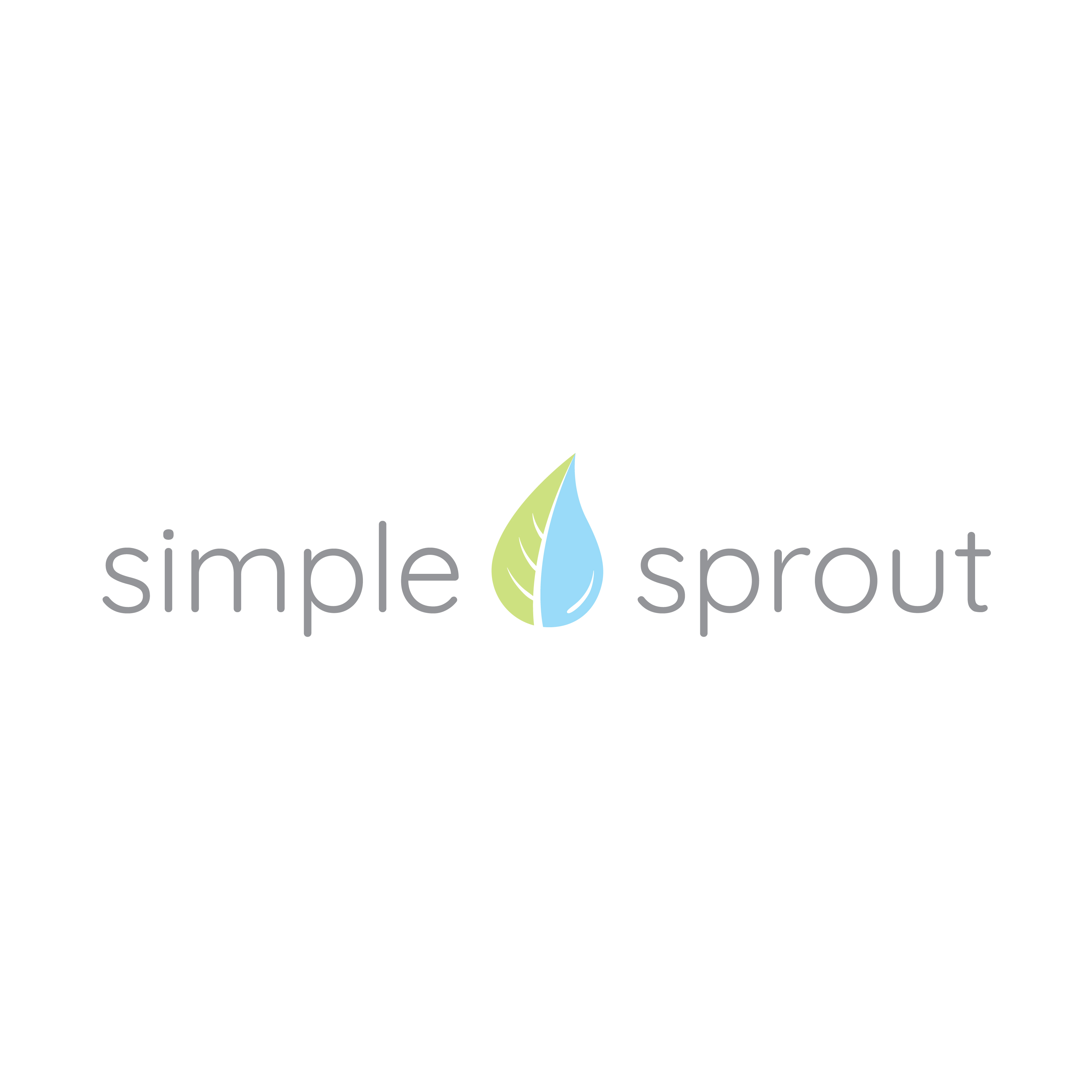 Simple Sprout Logotype Standard